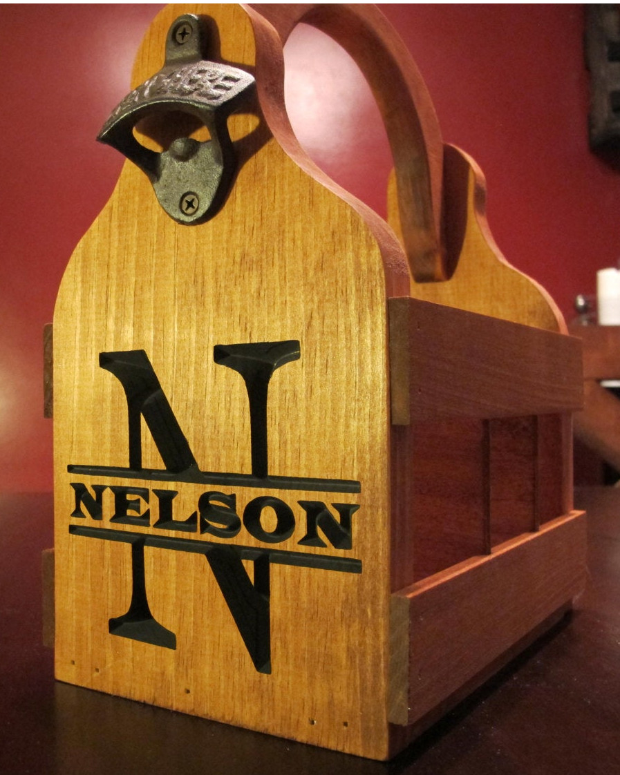 Beer Caddy / 6-Pack Holder - Nelson Style