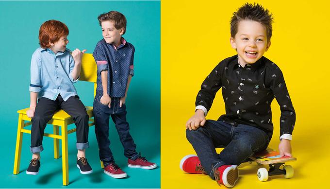 Breda Moda kids, baby e JR