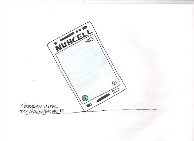 nuhcell karikatürü