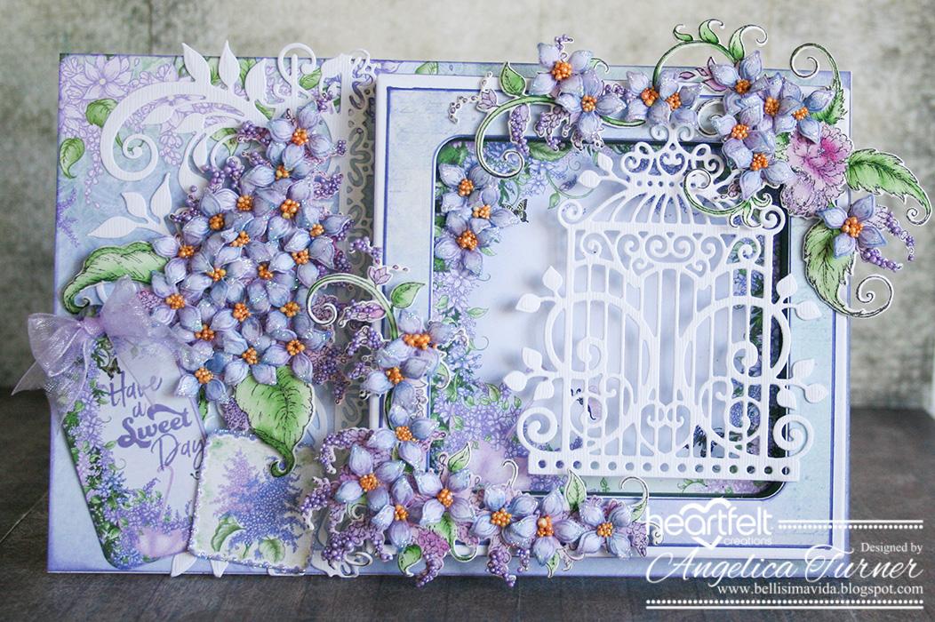 Bellisima Vida New Lush Lilac Collection From Heartfelt