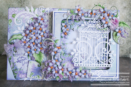 New Lush Lilac Collection from Heartfelt Creations