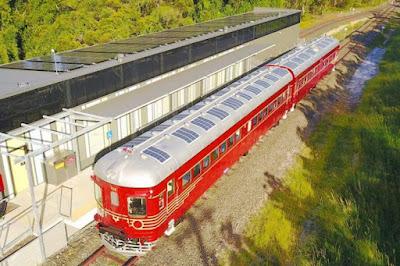 Παγκόσμια πρωτιά: Τρένο στην Αυστραλία λειτουργεί μόνο με ηλιακή ενέργεια