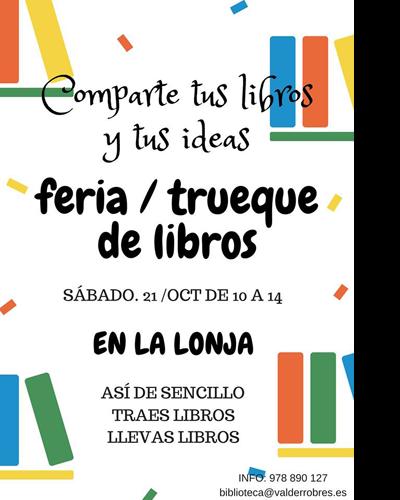 Feria y trueque de libros