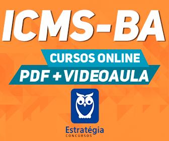 Curso Online concurso ICMS BA 2018