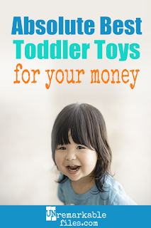 From a mom of 6 who knows, here are 6 of the best toddler toys for awesome, long-lasting fun that converts from toddler to preschooler and beyond. These convert from toddler to preschool and beyond, making them ideal birthday and Christmas gifts for 1 year olds and 2 year olds that will last for years and years. #toddlertoy #1yearsold #2yearold #christmas #birthday