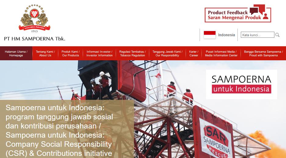 Cara melihat informasi lowongan pekerjaan di PT HM Sampoerna Tbk