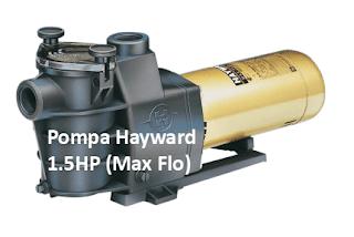 Spesifikasi dan Kemampuan Pompa Hayward 1.5HP (Max Flo)