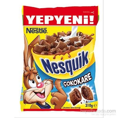 Nestle Nesguik Çokokare Çikolatalı Tahıl Gevreği