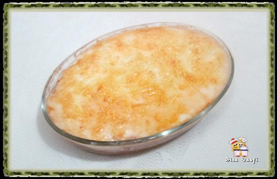 Jaca gratinada ou falso bacalhau 2