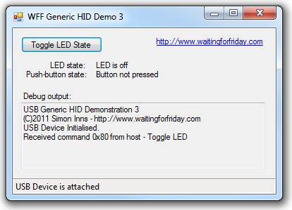 Custom USB HID device using PIC18F4550 | ToughDev