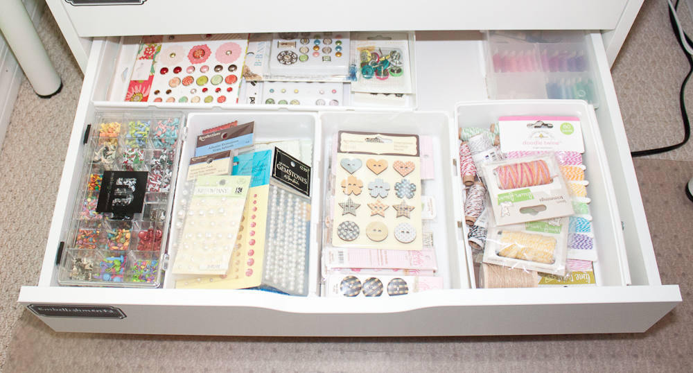In my world 2017 craft space organizational - Scrapbooking storage ideas for small spaces plan ...