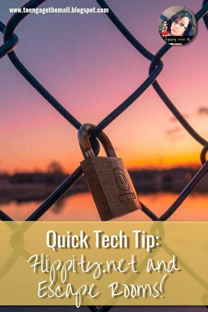 Quick Tech Tip: Flippity.net to make quick escape rooms! #edtech #escaperooms #digitalbreakouts #breakoutedu