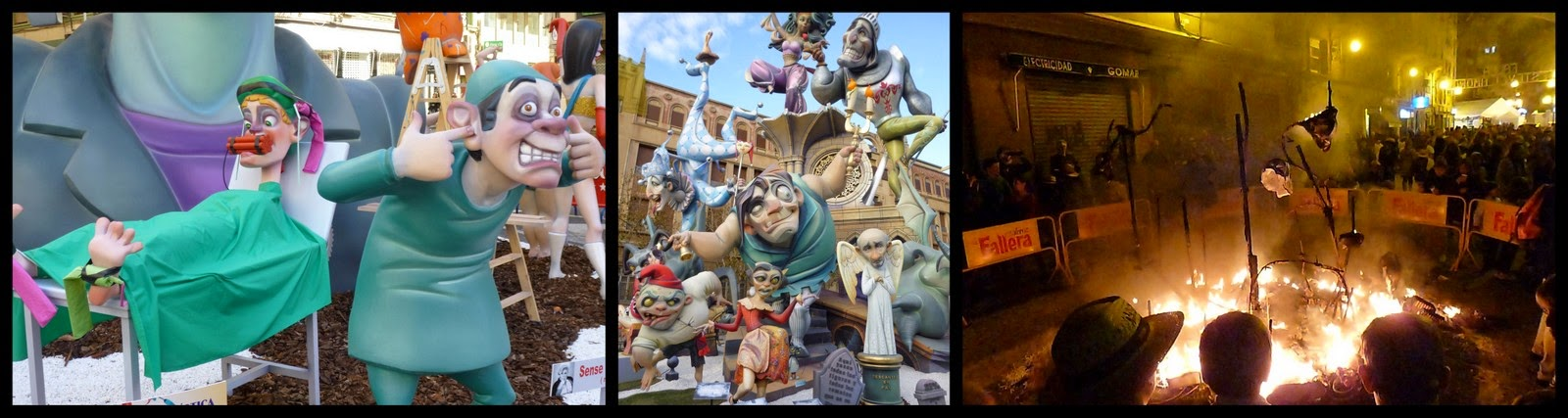 Ryanair Weekend Destination Ideas: Las Fallas Festival in Valencia, Spain