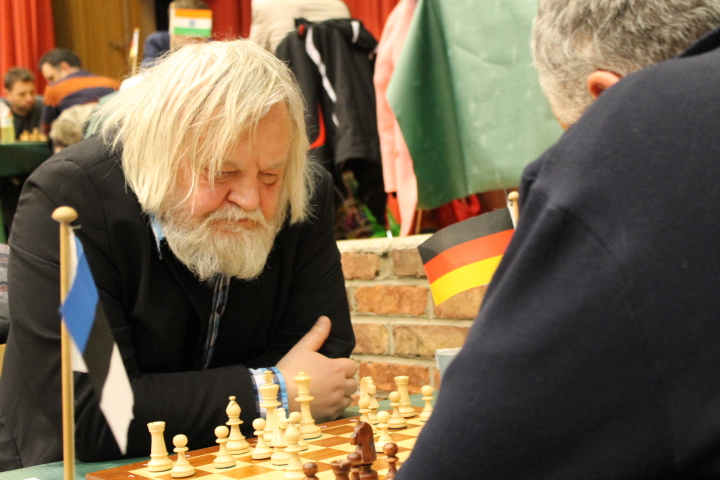 Le légendaire Arthur Youssoupov à l'Open de Cappelle 2016 - Photo © Chess & Strategy