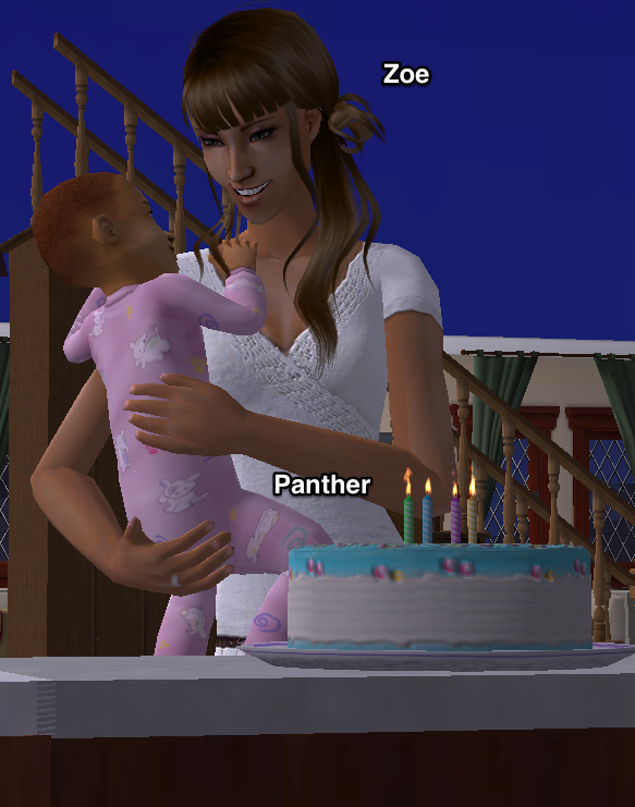 Getting A Birthday Cake Sims