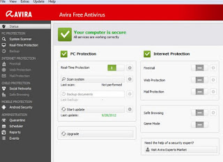 programma Avira Antivirus Free