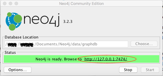 Neo4J for Mac OS X (macOS Sierra, Version 10 12 6) | qCluster