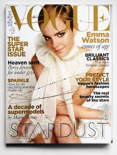 Emma Watson Vogue UK Wielka Brytania December 2010