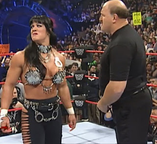 WWE / WWF - Wrestlemania 14 Review  -  Chyna was forced to be handcuffed to Sgt. Slaughter