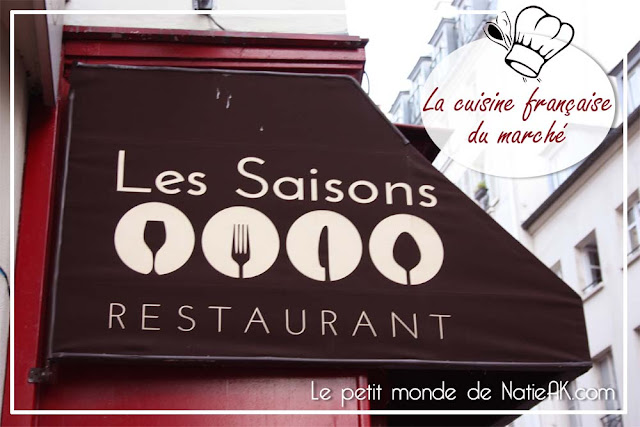 Le restaurant Les saisons Paris
