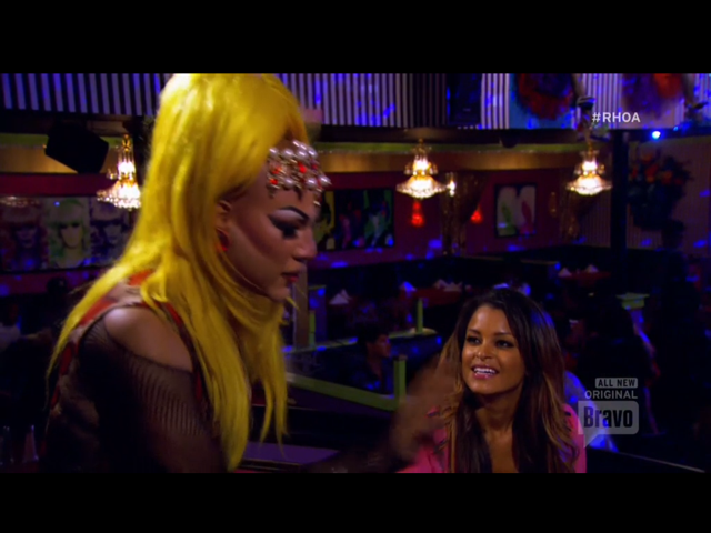 Claudia Jordan drag queen