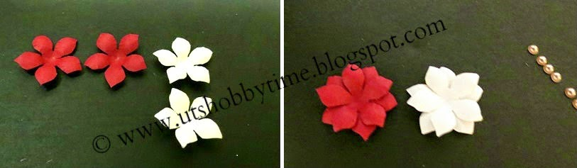 how to make handmade paper flowers step by step tutorial