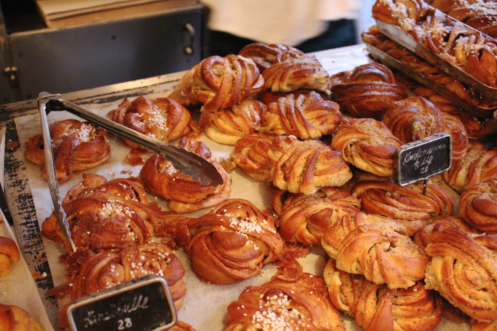 Best cardamom buns in Stockholm Fabrique bulle