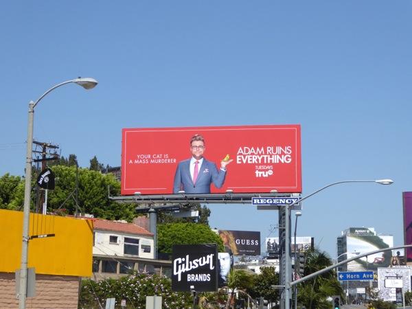 Adam Ruins Everything billboard