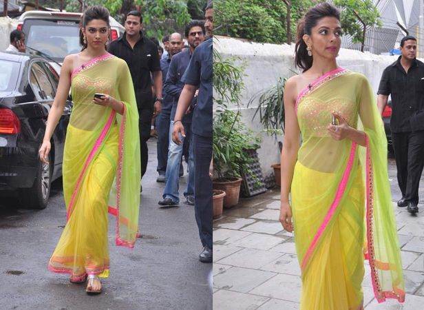 40 Best Images Of Deepika Padukone In Saree || Deepika ...
