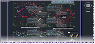 download-autocad-cad-dwg-file-park-pedestrian-walk-stairway