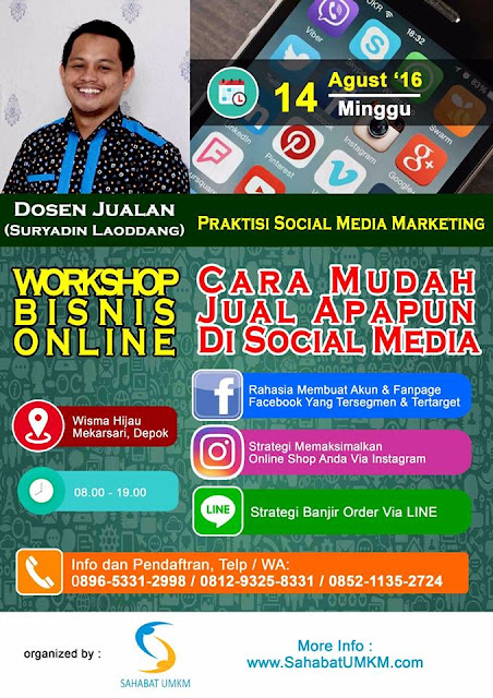 Seminar dan Workshop Social Media Marketing