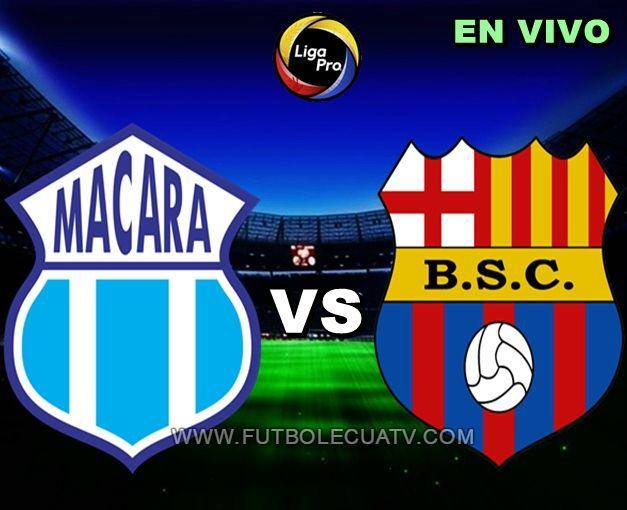 Macará y Barcelona SC se miden en vivo 📺 a partir de las 19h30 horario designado por la FEF a realizarse en el estadio Bellavista de Ambato prosiguiendo la fecha dos de la Liga Pro Ecuador, con arbitraje principal del señor Vinicio Espinel siendo emitido online por el canal oficial GolTV.