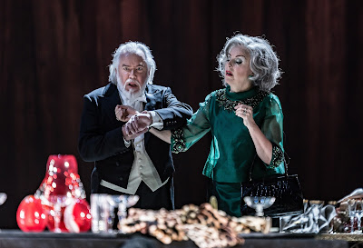 John Tomlinson, Anne Sofie von Otter - Thomas Adès: The Exterminating Angel - © ROH, photo Clive Barda