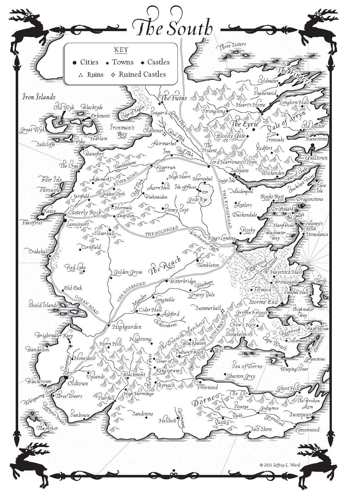 A Fantasy Reader Index Of Maps