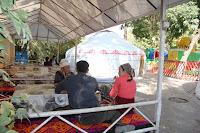 Kyrgyzstan, Osh, Alimbek Datka Square, topchan, © L. Gigout, 2012