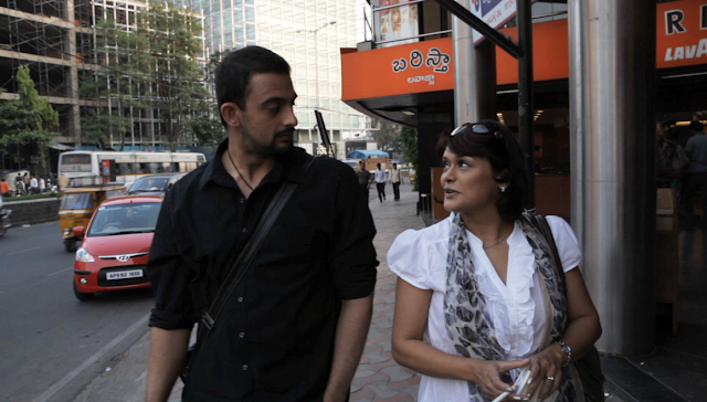 Arunoday Singh and Pallavi Joshi in Vivek Agnihotri's Buddha in a Traffic Jam