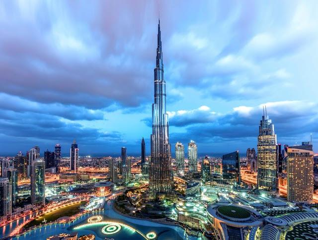 bangunan tinggi, burj khalifa, puasa, islam