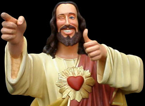 Image result for buddy christ dogma