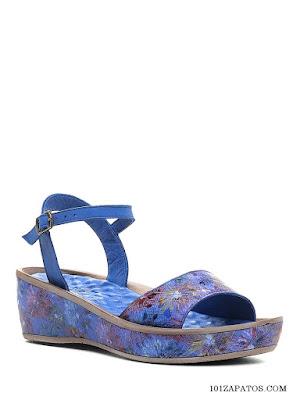 Sandalias Azules