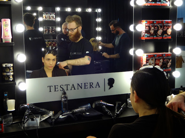 X Factor 2013 Italia terza puntata backstage Testanera Aba