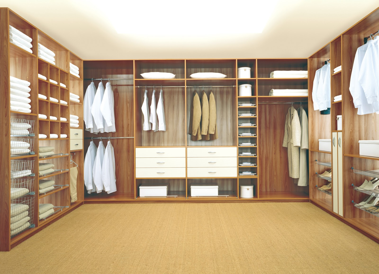 Custom built cabinets in uae walk-in closets wooden cabinets.