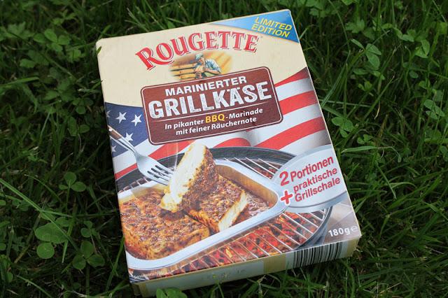 Rougette Marinierter Grillkäse in pikanter BBQ-Marinade mit feiner Räuchernote