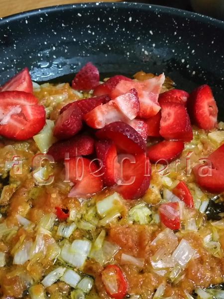La mejor sopa de fresas