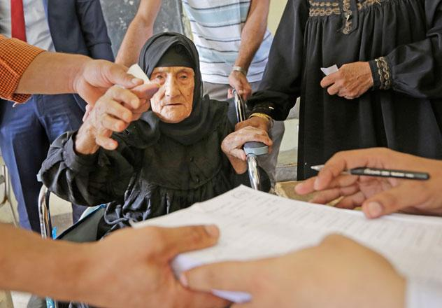 Reuters, Jordan Times, Egypt, Al-Sisi, elections, parliamentary elections, voter turnout, elderly