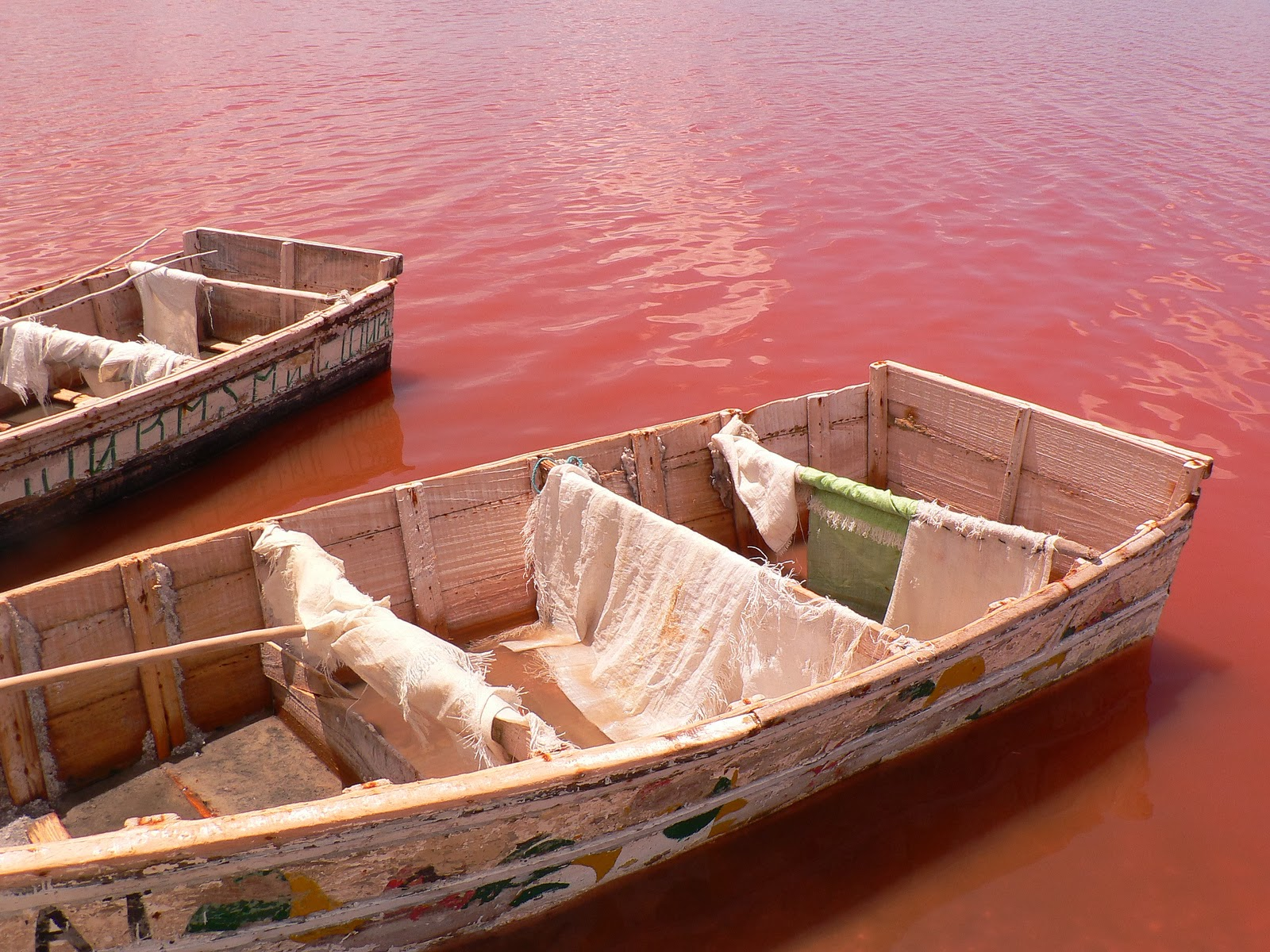 africa pink lake
