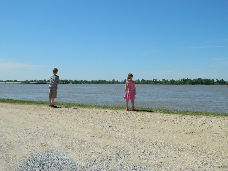 On the banks of the Mississippi River