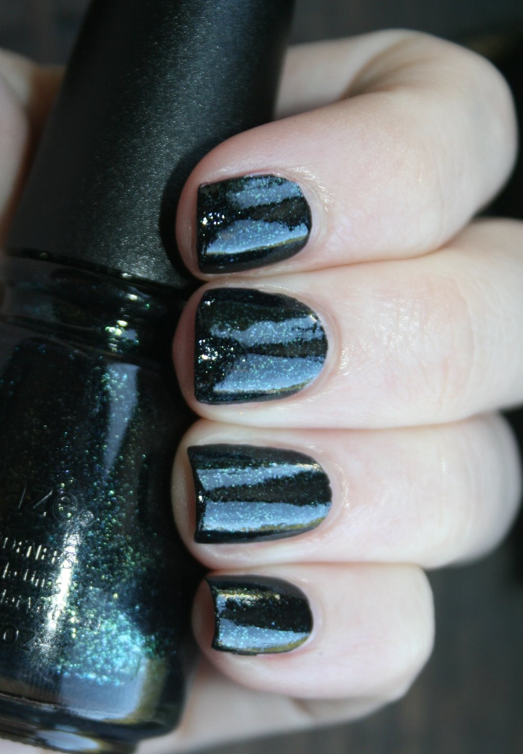 China Glaze Smoke and Ashes swatch