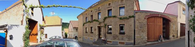 Das Gutsgebäude des Weingutes Jakob Schneider in Niederhausen an der Nahe. #Nahe #Nahewein