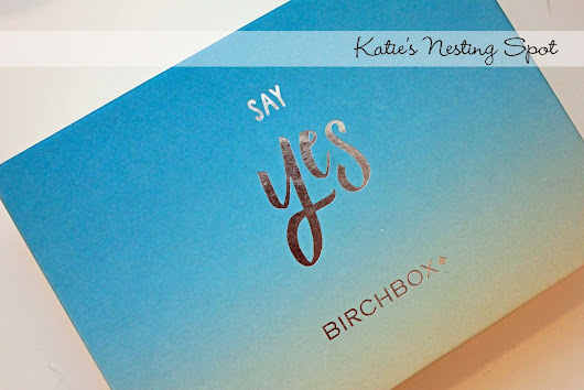 Katie's Nesting Spot: Birchbox June 2015: Adventure
