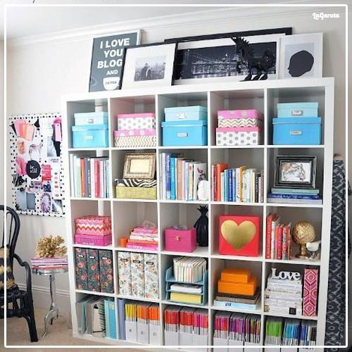 Dicas para decorar estante de livros